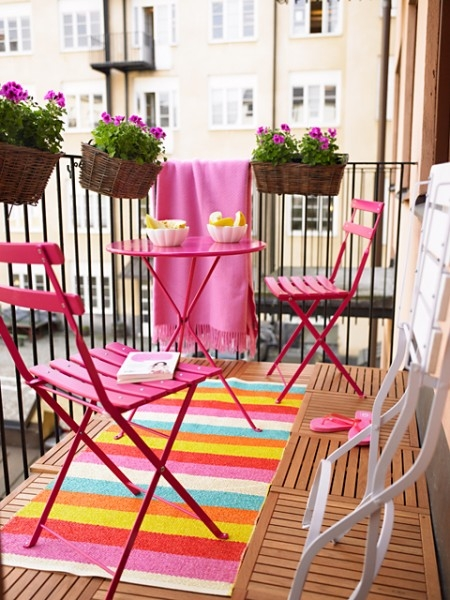 balkon dekorasyonları