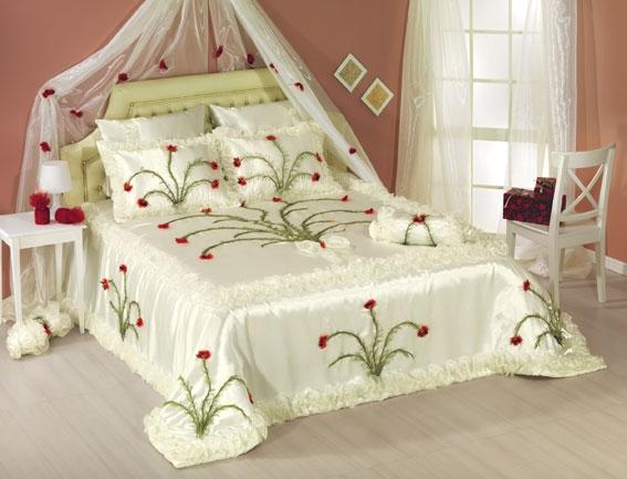 yatak örtüsü modelleri el yapımı