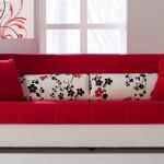 kırmızı kanepe modelleri