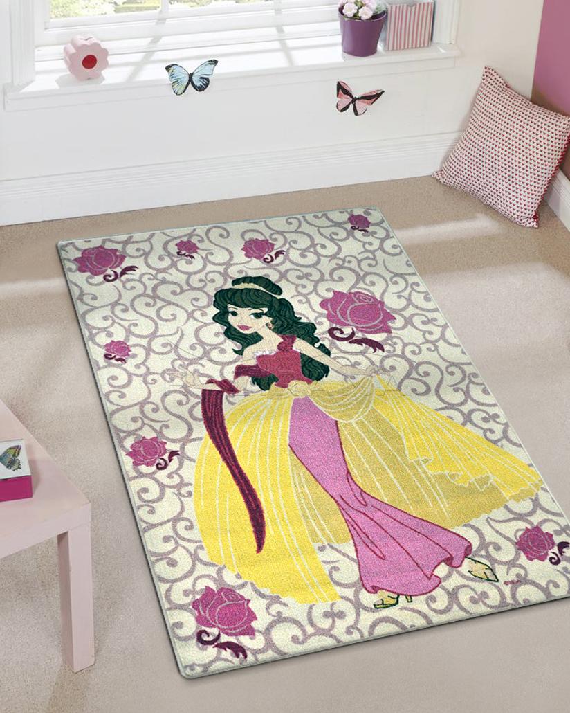 çocuk halısı royal prenses modeli