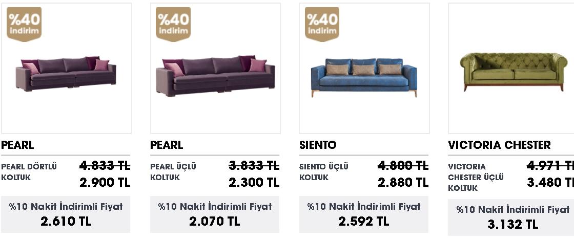 ucuz üçlü koltuk modelleri