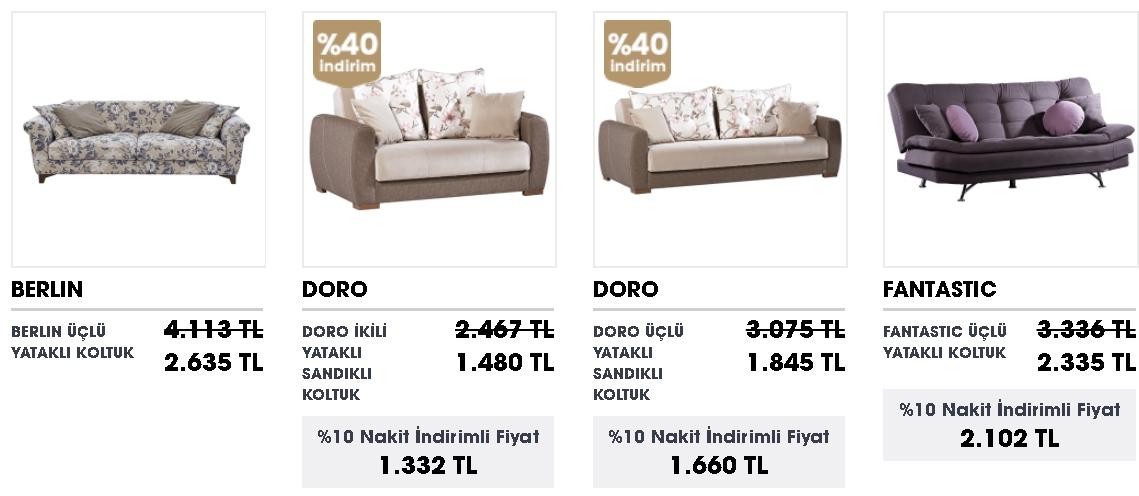 yataklı koltuk modelleri