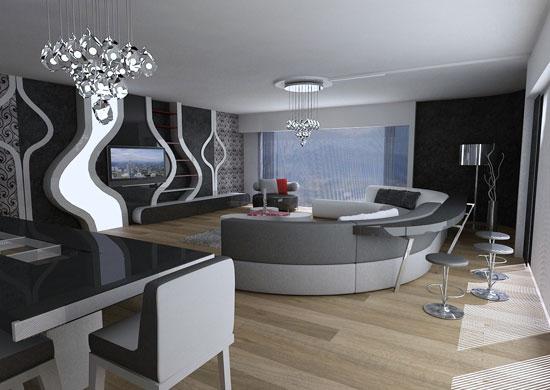 salon mobilya dekorasyonu