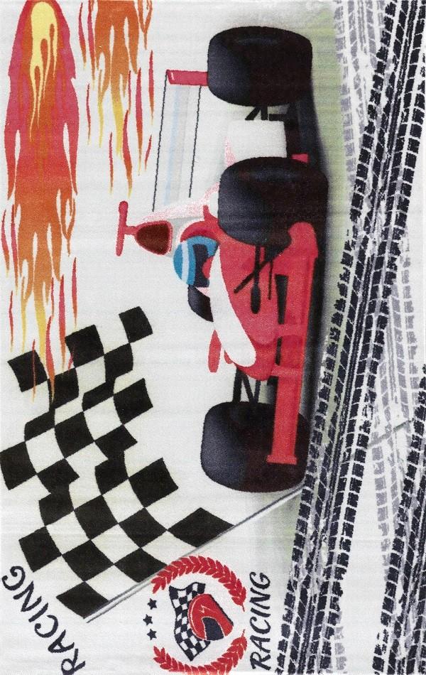 Merinos Çoçuk Halısı modeli yarış otomobili