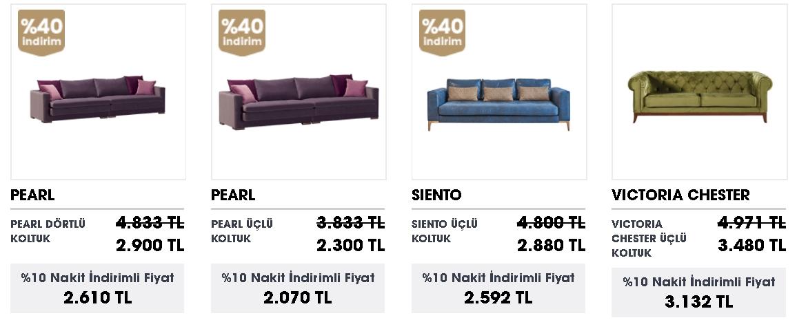 Üçlü Koltuk modelleri ve fiyatları