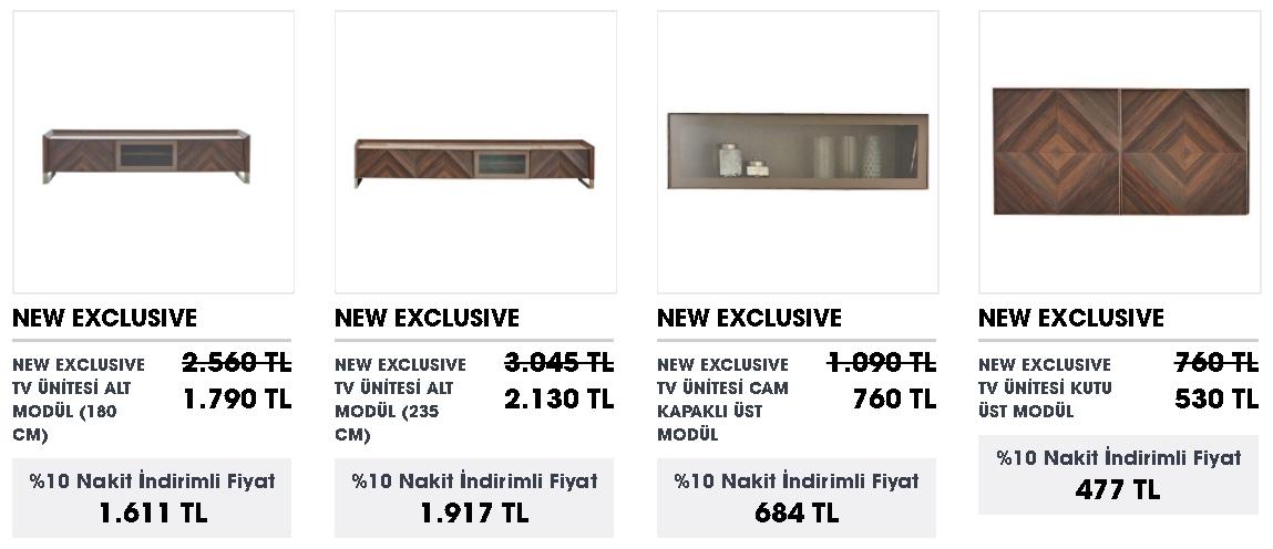 TV Ünite modelleri ve fiyatları