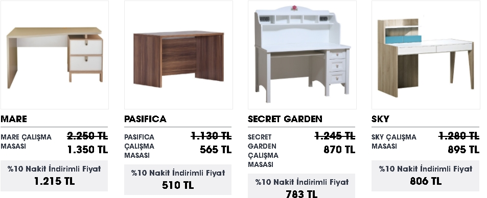 ucuz çalışma masası model ve fiyatları