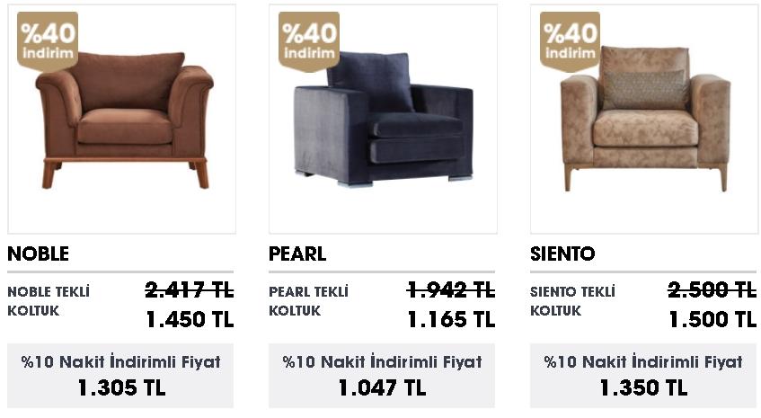 ucuz tekli koltuk fiyatları